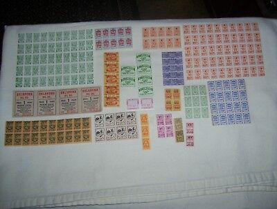Lot of Vintage Trading Stamps many from Chicago Area + Oklahoma Oil Coupons
