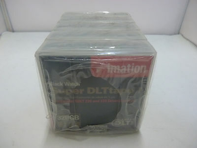 5Pack x New Imation Black Watch Super DLT tape 1 Data Cartridge 160/320GB Sealed