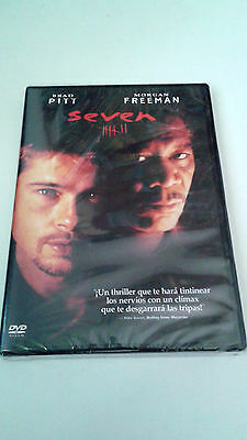 "Dvd ""seven"" Precintada Sealed David Fincher Brad Pitt Morgan Freeman"