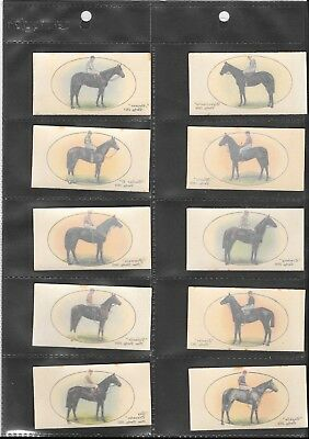 John Player - Derby and Grand National Winners  FULL SET 1933