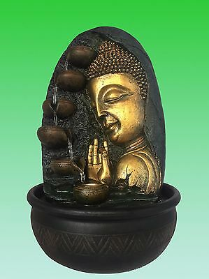 NEW Design Buddha Water Feature - Calming & Relaxing Water fountain(Pump & LED)
