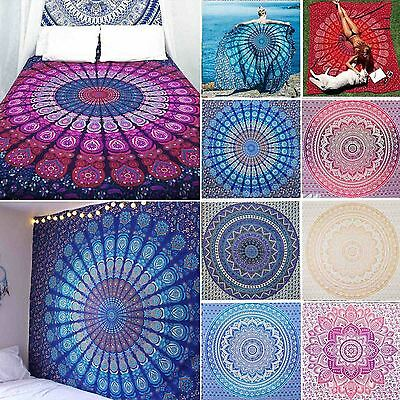 210cm Large Indian Wall Hanging Tapestry Mandala Tapestries Bohemian Throw
