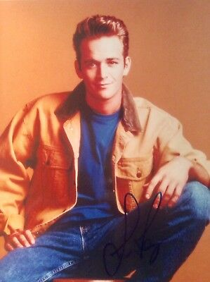 Luke Perry SIGNED PHOTO 8 X10 GUARANTEED AUTHENTIC