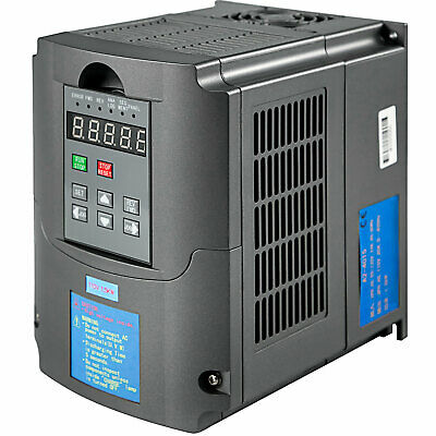 1.5KW 110V Variable Frequency Drive 2HP VFD Close-Loop Inverter Single Phase