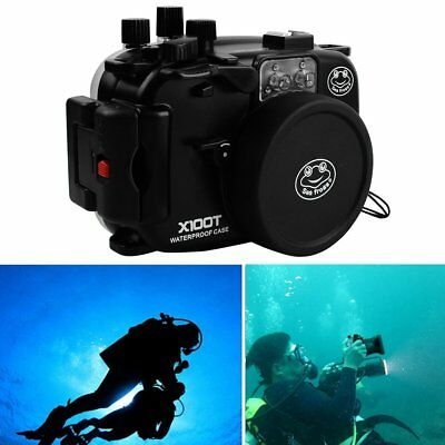 Sea frogs 40m/130ft Underwater Diving Camera Housing Case For Fujifilm X100T