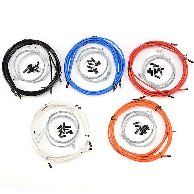 Complete set Brake+Gear Front Rear inner outer bike cables Road Derailleur Cable
