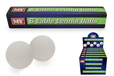 NEW Table Tennis Balls | Kids Ping Pong Ball Sports Toys  | ihartTOYS (1 Pack)