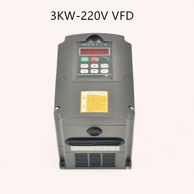 4Hp 3Kw 220V Variable Frequency Drive Inverter Speed Control Vsd 13A