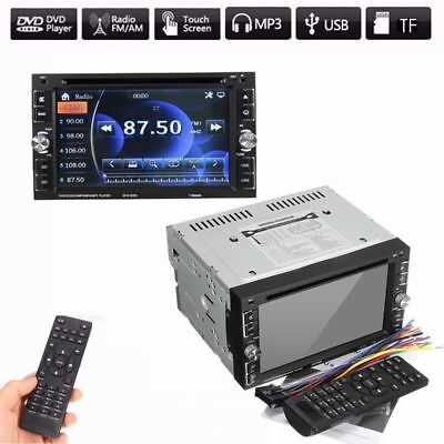 "Autoradio Bluetooth Navigation 2 DIN Doppel DVD CD USB MP3 TOUCHSCREEN 6.2""Touch"