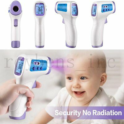 Baby Digital Thermometer  Non-contact Body Infrared Digital Laser IR Temperature