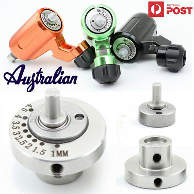 CNC Stainless Steel Rotary Tattoo Machine Adjustable Bearing Cam Wheel 1mm-5mm