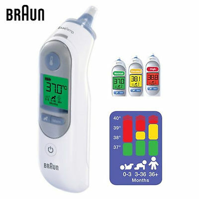 New Braun ThermoScan 7 IRT-6520 Baby Adult Professional Digital Ear Thermometer