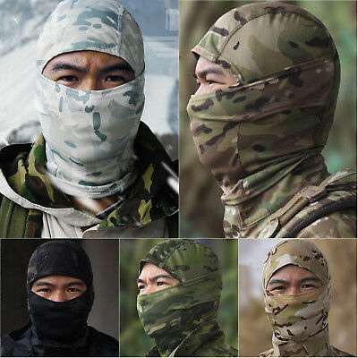Camouflage Army Cycling Motorcycle Balaclava Hunting Ski Full Face Mask Outdoor