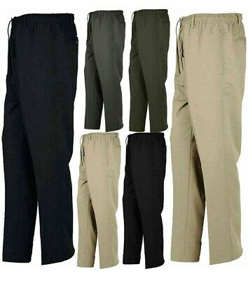 Boys Office Trouser Business Rugby Trouser Mens Elasticated Waist Band Pant