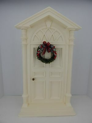 Authentic Byers Choice Carolers Accessory Ivory Door w/ Wreath