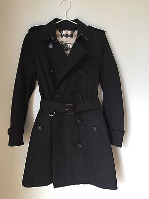 ORIGINAL BURBERRY DAMEN Trenchcoat Mantel KLASSIKER! Gr. 34