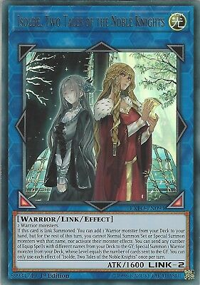 Yu-Gi-Oh: Isolde, Two Tales Of The Noble Knights - Ultra Rare  Exfo-En094 1St Ed
