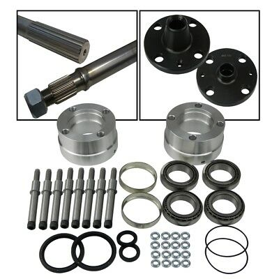 Ford Atlas Axle Fully Floating Kit Inc. 820mm Halfshafts Hubs/Flanges & Bearings