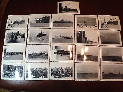 WW2 Vintage Photos Lot of 57