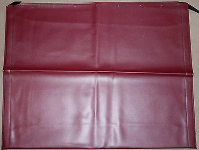 Classic Fiat 500 Red Sunroof Soft Top Convertible Fabric Cloth - Brand New
