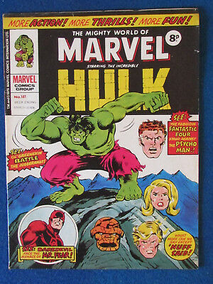 Marvel Comic - The Mighty World of Marvel - Incredible Hulk - Issue 181 - 1976