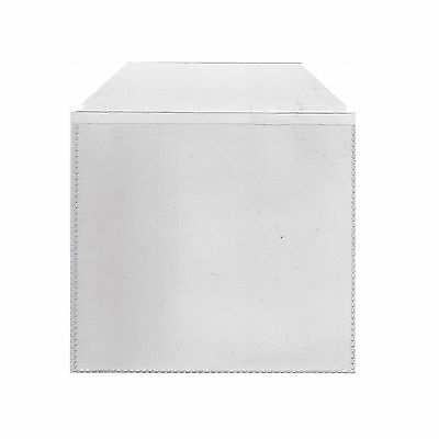 500 CD & DVD Plastic Sleeves 120 micron - 500 in a pack