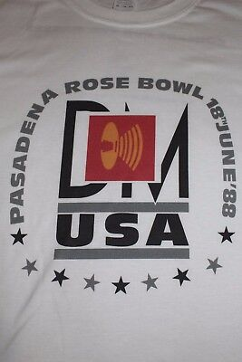 Depeche Mode Pasadena Rose Bowl Masses Tour Shirt 101 XL