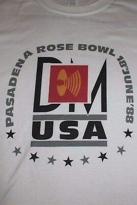 Depeche Mode Pasadena Rose Bowl Masses Tour Shirt 101 Large
