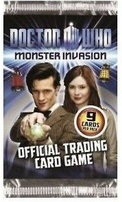50 Packs Doctor Who Monster Invasion Trading Cards 9 cards per pack Dr card