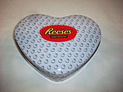 Reese's Peanut Butter Cup Heart tin