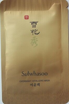 Sulwhasoo Overnight Vitalizing Mask EX 80ml 5ml 16ea