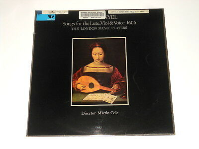 The London Music Players - LP - JOHN DANYEL - Songs for the Lute, Viol & Voice