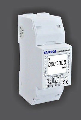 Eastron SDM230 Modbus Single Phase Energy Meter DIN Rail Meter Express Delivery