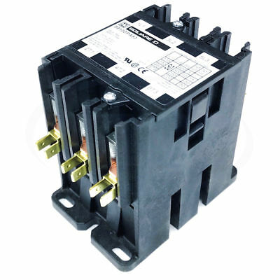 Square D 8910DPA53V14 Definite Purpose Contactor, 50FLA 65A Res 24V 3-Pole Opne