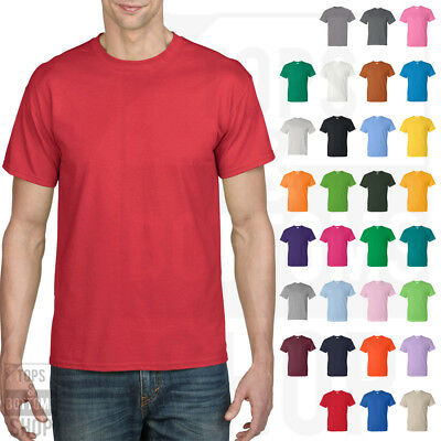Gildan DryBlend 50/50 T Shirt Mens Short Sleeve Solid Plain Tee S-3XL - 8000