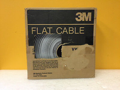 3M 3476/40-100 100' Length, 40 Conductors, Flat Ribbon Cable. New in Box!