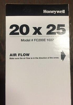 Honeywell 20X25 Merv 13 Charged-Media Air Filter Fc200E1037