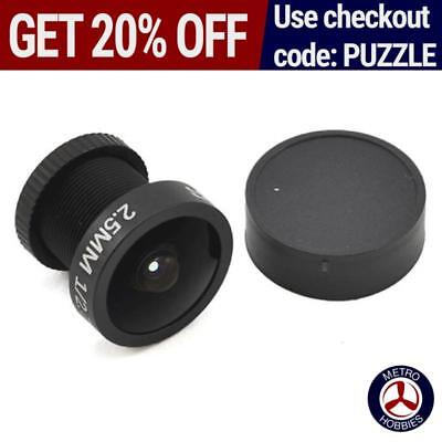 Foxeer High Quality 2.5mm FPV Lens Go Pro Style IT Blocking CL1196 Brand New