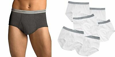 Hanes Men's Briefs 9-pack of Underwear Sizes S-3X NEW in Famous Brand Packs