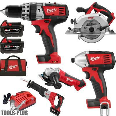 Milwaukee 2696-26 18 Volt M18 6 Piece Tool Kit New
