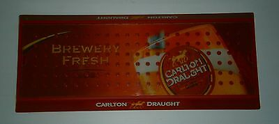 Carlton Draught CUB Beer Original drinks drip tray for home bar or collector