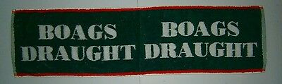 James Boags Draught Beer Large Bar Towel Runner for home bar or collector