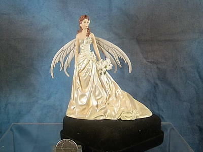 "Fairy Figurine Of ""bride"" By Nene Thomas"