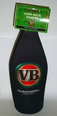 VB Victoria Bitter Beer Long Neck stubby can holder new for home bar collector