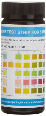 Dirui 5 Parameter Professional GP Urinalysis Multisticks Urine Strip - Pack of 1