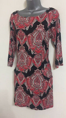 EX M/&S COLLECTION RASBERRY TOP TUNIC  SIZE 10-20  FREE P/&P