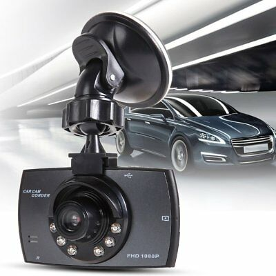 """Dash Cam HD 1080P 2.7""""LCD Car Camera DVR Video Recorder, Front Came Night Vision"""
