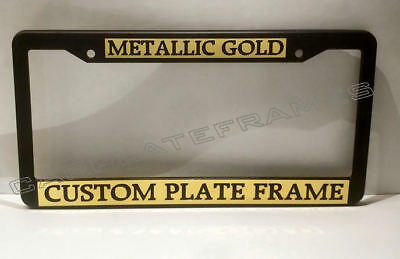 TAG HOLDER CUSTOM TEXT PERSONALIZED CUSTOMIZED License Plate Frame
