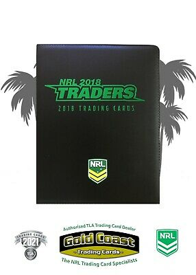2018 Nrl Traders Album With Complete Base Set - Full Set 160 Cards