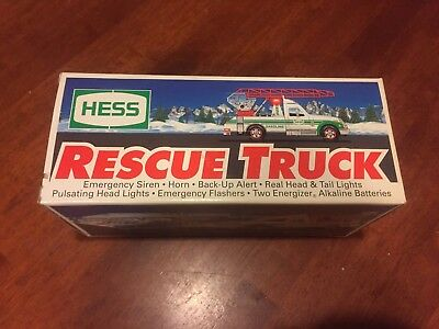 Hess Toy Rescue Truck 1994 Collectible. Brand New In Box.